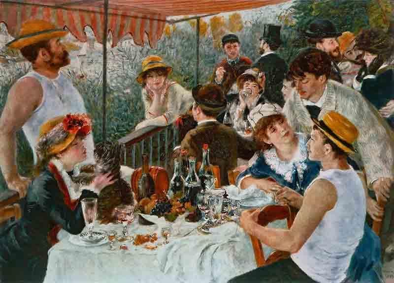 Le dejeuner des canotiers - Auguste Renoir (1880 – 1881)