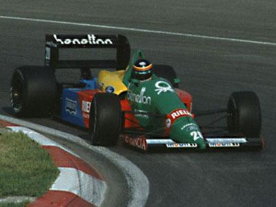Boutsen in de GP van Canada in 1988