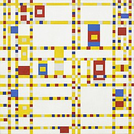 Piet Mondriaan: Broadway Boogie Woogie - 1942 – 1943