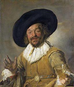 De vrolijke drinker - Frans Hals - 1628 / 1630