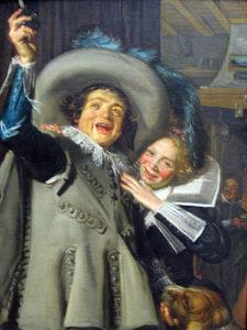Jonker Ramp en zijn liefje - Frans Hals - 1623
