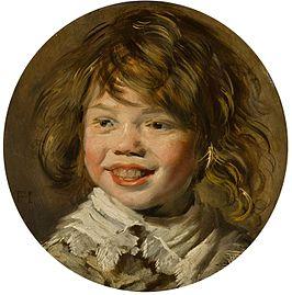 Lachende Jongen - Frans Hals - 1625