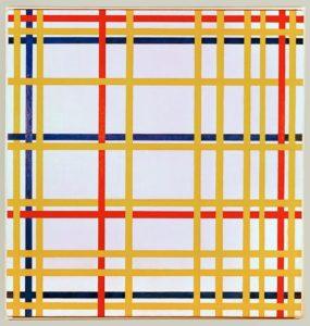 Piet Mondriaan: New York City I - 1942