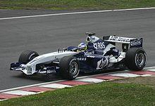 Quick Nick 2005 in de Williams FW27 BMW V10