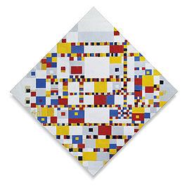 Piet Mondriaan: Victory Boogie Woogie - juni 1942 en januari 1944