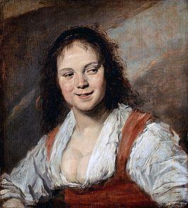 Zigeunermeisje - Frans Hals - 1626