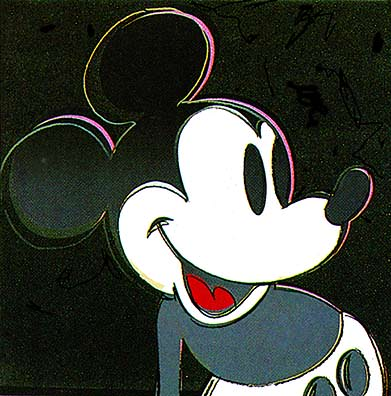 Andy Warhol - Mickey Mouse (1981)