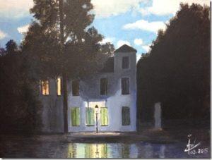 L'Empire des lumières (1953 – 1954) - René Magritte