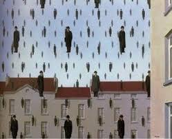 Golconde (1953) - René Magritte