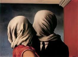 Les Amants (1928) - René Magritte