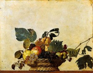 Mandje met fruit / Canestra di frutta (c.1599) - Caravaggio