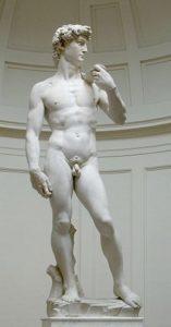 David (1504) - Michelangelo