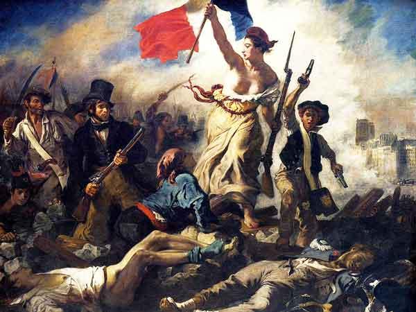 De tien beroemdste schilderijen van Delacroix met beeld en tekst