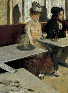 L'Absinthe / De absintdrinkster (1876) - Edgar Degas
