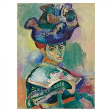Femme au chapeau - Vrouw met de hoed (1905) - Henri Matisse