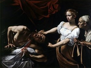 Judith onthoofdt Holofernes / Giuditta e Oloferne (1598-99) - Caravaggio