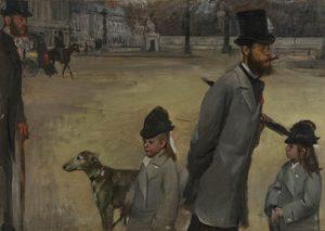 Place de la Concorde (1876) - Edgar Degas