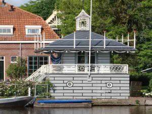 Theehuis in Broek in Waterland