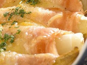 Witloof met ham en kaas