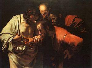 De ongelovige Thomas/ Incredulità di san Tommaso - Caravaggio