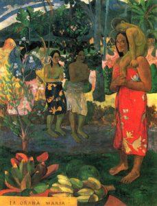La Orana Maria - Paul Gauguin (1891)