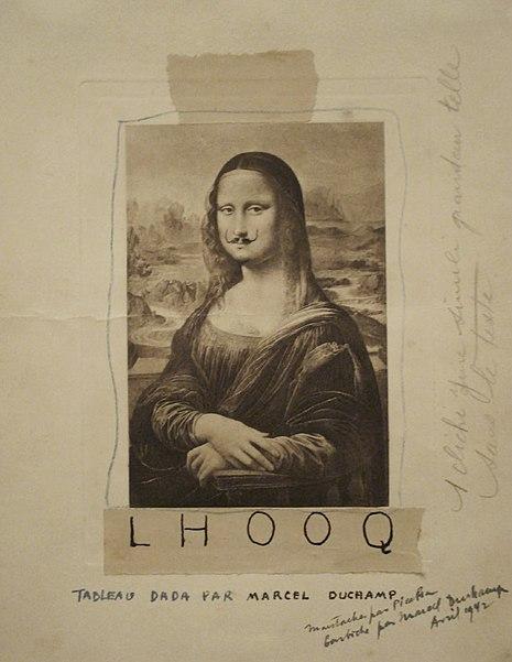 L.H.O.O.Q (1919) - Marcel Duchamp
