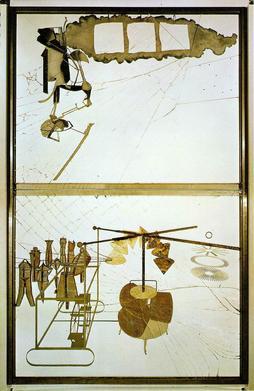 Le Grand Verre / Het grote glas (1915-1923) - Marcel Duchamp