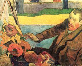Le peintre de tournesols / De zonnebloemenschilder (1888) - Paul Gauguin