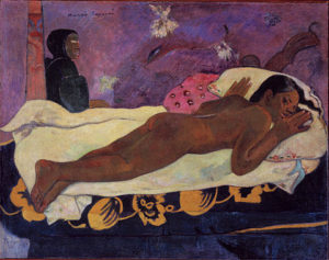 Manao tupapau / De geest van de doden kijken (1892) - Paul Gauguin