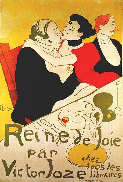 Reine de Joie (1892) - Henri de Toulouse-Lautrec