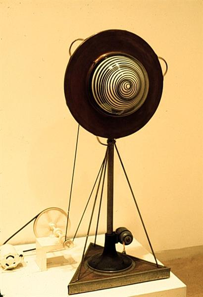 Rotary Demisphere (1925) - Marcel Duchamp