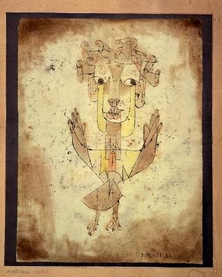 Angelus Novus (1920) - Paul Klee