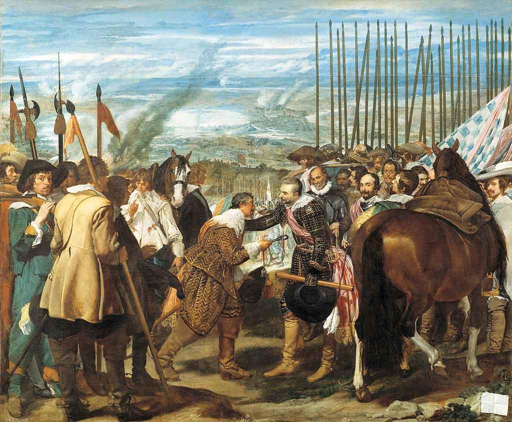 La rendición de Breda / De overgave van Breda (1634) - Diego Velazquez</h3>