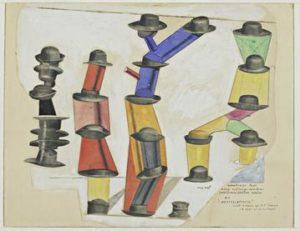 Der Hut macht den Mann (1920) - Max Ernst