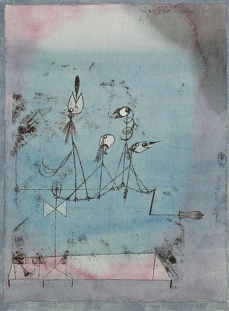 Die Zwitscher-Maschine (1922) - Paul Klee