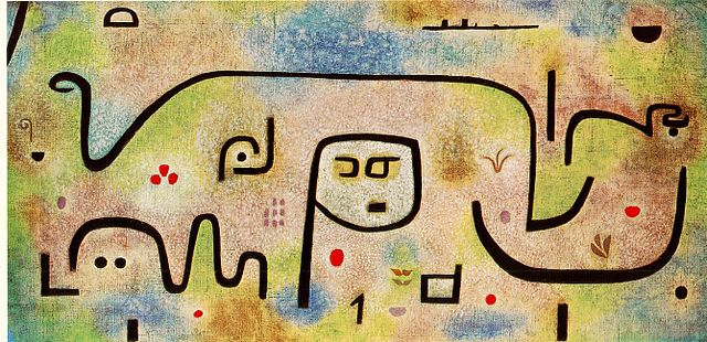 Insula Dulcamara (1938) - Paul Klee