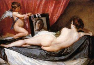 La Venus del espejo / Venus voor de spiegel (1649–1650) - Diego Velazquez