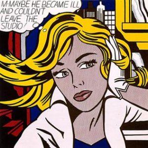 M-Maybe (1965) - Roy Lichtenstein