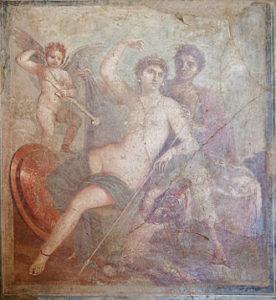 Mars, de god van de oorlog