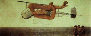 L'avion meurtrier (zonder titel) (1920) - Max Ernst
