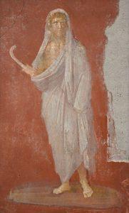 Saturnus, de god van de landbouw en het uitgezaaide graan