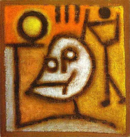Tod und Feuer (1940) - Paul Klee