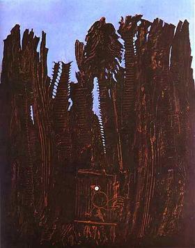 Wald und Taube (1927) - Max Ernst