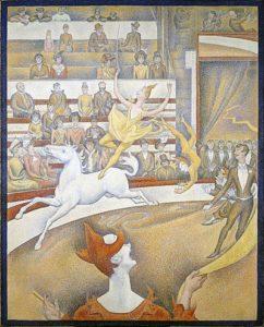 Le cirque / Het circus (1891) - Georges Seurat