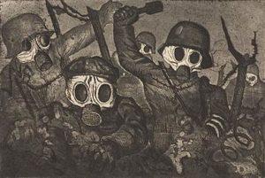 Der Krieg / De oorlog (1932) - Otto Dix