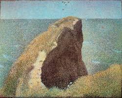 Le Bec du Hoc, Grandcamp (1885) - Georges Seurat