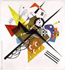 On White II (1923) - Wassily Kandinsky
