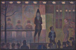 Parade de cirque / Parade van het circus (1888) - Georges Seurat