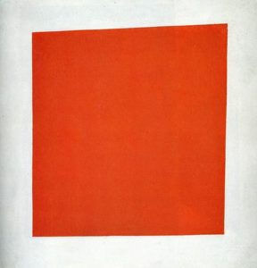 Red Square (Painterly Realism of a Peasant Woman in Two Dimensions) (1915) - Kazimir Malevich