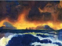 Stürmische See (1930) - Emil Nolde